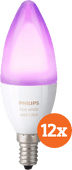 Philips Hue White and Color E14 12-pack