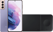 Samsung Galaxy S21 Plus 256GB Purple 5G + Samsung Trio Wireless Charger 9W Black