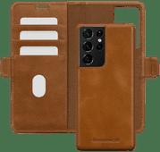 DBramante1928 Lynge Samsung Galaxy S21 Ultra 2-in-1 Cover Leer Bruin