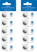 Veripart Lithium Button Cell Batteries 5 units Duo Pack