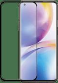 Azuri Curved Tempered Glass OnePlus 8 Pro Screen Protector Rinox Armor Black