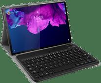 Just in Case Lenovo Tab P11 Premium Toetsenbord Hoes QWERTY Zwart