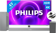 Philips 43PUS8505 + Soundbar + Wifi speaker + HDMI kabel