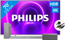 Coolblue-Philips 70PUS8505 + Soundbar + Wifi speaker + HDMI kabel-aanbieding