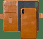 DBramante1928 Lynge Apple iPhone Xs Max 2-in-1 Case Leer Bruin