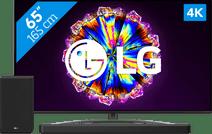 LG 65NANO816NA (2020) + Soundbar