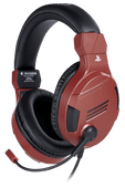 Bigben Official Licensed PS4 & PS5 V3 Stereo Gaming Headset Rood