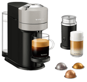 Krups Nespresso Vertuo Next with Aeroccino XN911B Gray