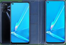 OPPO A72 128 GB Zwart + OPPO A72 Book Case Blauw