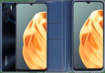 OPPO A91 128 GB Black + OPPO A91 Book Case Blue