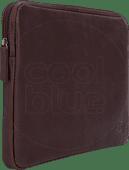 BlueBuilt 12 inch Laptophoes breedte 29 cm - 30 cm Leer Bruin