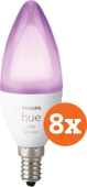 Philips Hue White and Color E14 Bluetooth 8-Pack