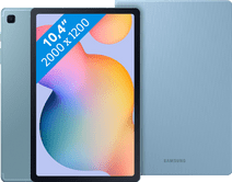 Samsung Galaxy Tab S6 Lite 64 GB Wifi Blauw + Samsung Book Case Blauw