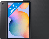 Samsung Galaxy Tab S6 Lite 128 GB Wifi Grijs + Samsung Book Case Grijs Samsung 10 inch tablet