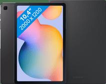 Samsung Galaxy Tab S6 Lite 64 GB Wifi + 4G Grijs + Samsung Book Case Grijs