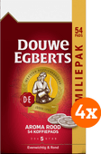 Douwe Egberts Aroma Rood Coffee Pads Family Pack 4x 54 units