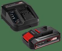 Einhell Power-X-Change 2,5 Ah accu + oplader Accu en acculader sets voor gereedschap