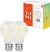 Hombli Smart Bulb E27 Filament dimbaar wit Duo-Pack