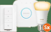 Philips Hue White Ambiance E27 Starter 5-Pack