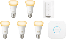 Philips Hue White Ambiance E27 Starter 5-pack