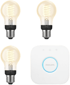 Philips Hue Filament Light White Standard E27 Bluetooth Starter 3-Pack