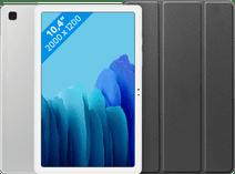 Samsung Galaxy Tab A7 32GB WiFi Silver + Just in Case Book Case Black