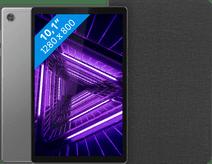 Lenovo Tab M10 HD (2de generatie) 64 GB Wifi Grijs + Lenovo Book Case Zwart