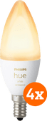 Philips Hue White Ambiance E14 Bluetooth 4-Pack