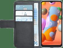 Azuri Wallet Samsung Galaxy A12 Book Case Zwart Azuri hoesjes