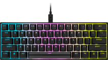 Corsair K65 RGB Mini Mechanical Gaming Keyboard Cherry MX Red QWERTY
