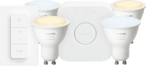 Philips Hue White Ambiance GU10 Bluetooth Starter 4-Pack