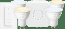 Philips Hue White Ambiance GU10 Bluetooth Starter 4-pack