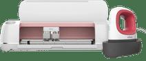 Cricut Maker Snijplotter Rosé + Cricut EasyPress Mini