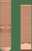 Garmin Milanees Bandje Roségoud 20mm