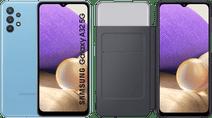 Samsung Galaxy A32 5G 128GB Blue + Samsung Galaxy A32 Smart S View Book Case Black