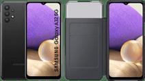 Samsung Galaxy A32 5G 128GB Black + Samsung Galaxy A32 Smart S View Book Case Black