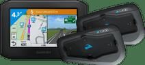 Garmin Zumo 346 LMT-S West Europa + Cardo Scala Rider Freecom 2 Plus Duo