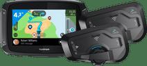 TomTom Rider 500 Europa + Cardo Scala Rider Freecom 4 Plus Duo