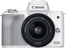 Canon EOS M50 Mark II White + EF-M 15-45mm f/3.5-6.3 IS STM White