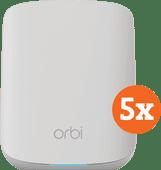 Netgear Orbi RBK353 5-Pack Multi-Room WiFi 6