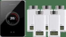 Bosch EasyControl CT200 zwart + 5x Bosch EasyControl Smart Radiator Thermostat RT10-RF
