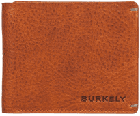 Burkely Antique Avery Billfold Low 9 cards Cognac