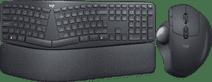 Logitech K860 + Logitech MX Ergo Wireless Mouse