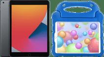 Apple iPad (2020) 10.2 inch 32 GB Space Gray + Kinderhoes Blauw
