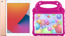 Apple iPad (2020) 10.2 inch 32 GB Goud + Kinderhoes Roze
