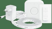 Philips Hue lightstrip plus White & Color Bluetooth 2m - basispakket + Philips Hue Bridge