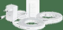 Philips Hue lightstrip plus White & Color Bluetooth 3m - basispakket + Philips Hue Bridge