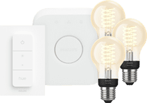 Philips Hue Decoratieve Standaardlamp Warmwit Licht E27 Bluetooth 3-Pack Startpakket
