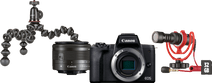 Canon EOS M50 Mark II Zwart Vlogger Kit