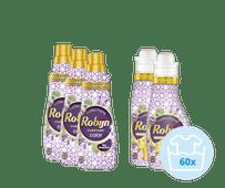 Robijn Klein & Krachtig Spa Sensation Pack - 3x Detergent and 2x Fabric Softener